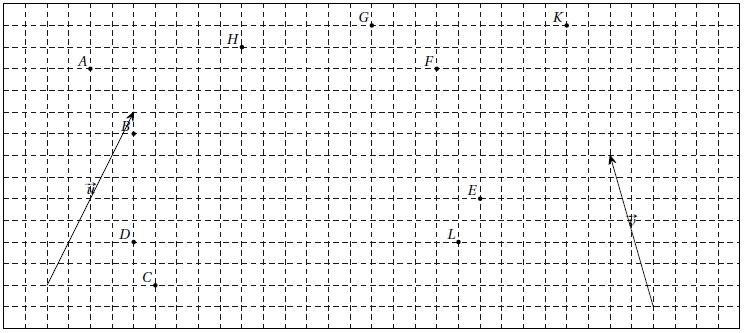 Exercice, vecteurs, construire les points, relations vectorielles