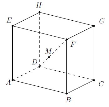 Produit scalaire, équation paramétrique, géométrie dans l'espace