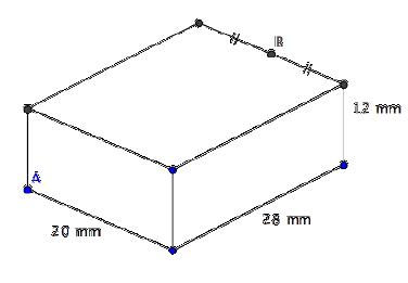 Géométrie 3D, pyramide, intersections, plans, patron, seconde