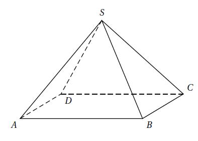 Géométrie 3D, pyramide, pavé, plans, droites, parallélisme, seconde