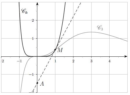 Exponentielle, fonction, suite, courbe, tangente, terminale