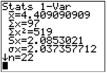 statistiques moyenne variance écart-type