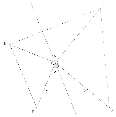 produit scalaire figure triangles