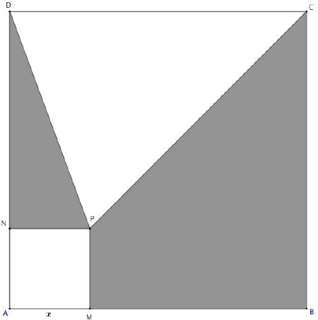 second degré aire polynôme