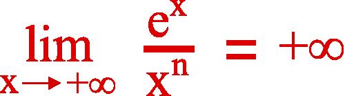 limite croissance comparée exponentielle x puissance n