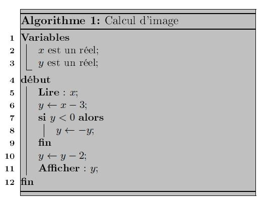 algorithmique, variables, conditions, calculs, seconde
