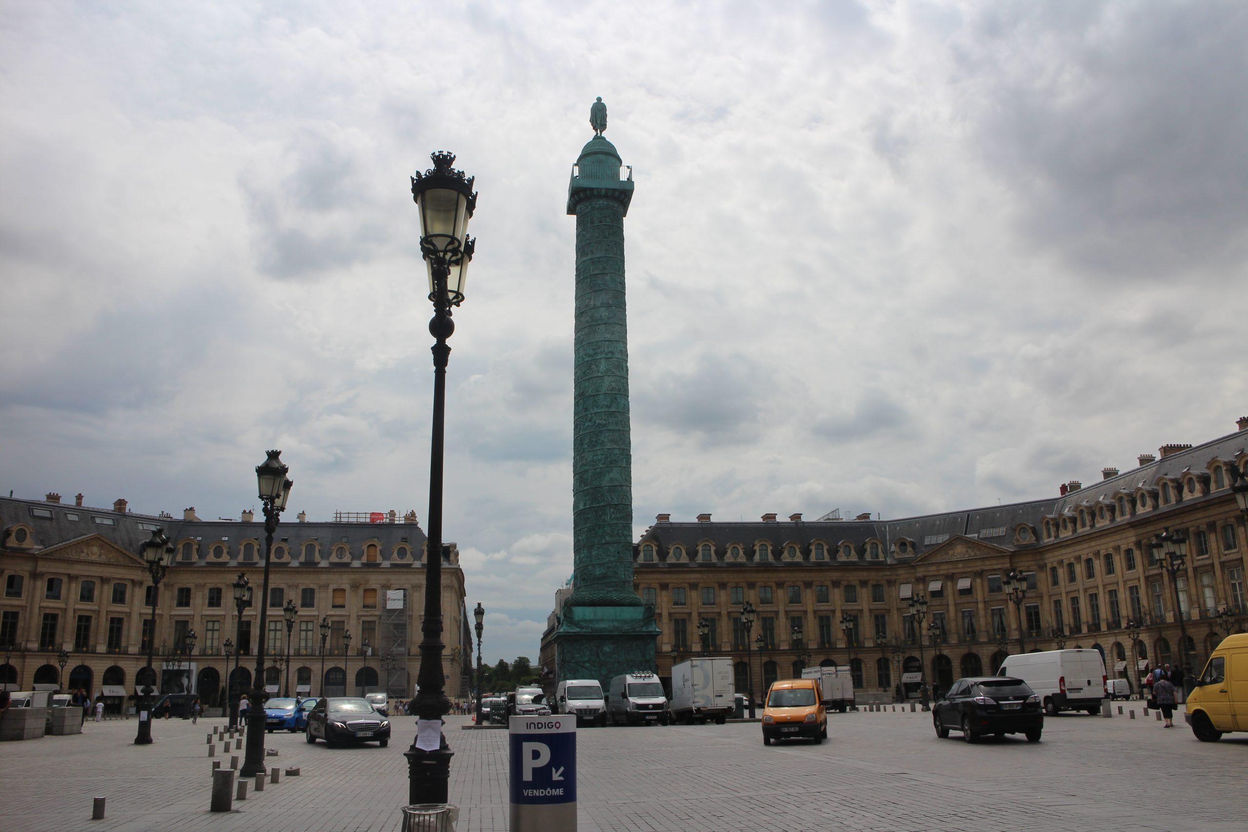 Produits scalaires, application, ensemble, Al-Kashi, première, Place Vendôme, Paris